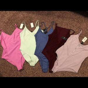 BRAND NEW! Forever 21 body suits